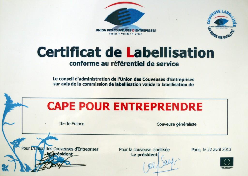 label CAPE